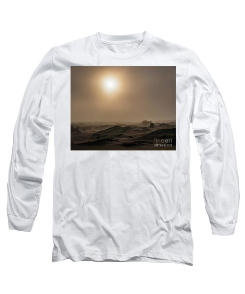 Foggy Morning In The Namib Desert Long Sleeve T-Shirt