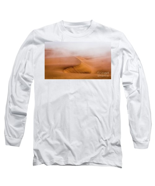 Foggy Namib Desert Long Sleeve T-Shirt