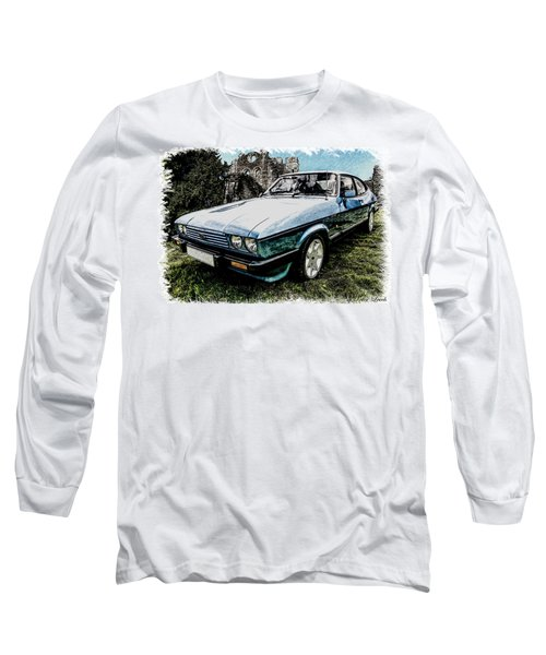 Ford Capri 3.8i Pencil V2 Long Sleeve T-Shirt