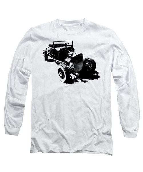 Ford Flathead Roadster Two Blk Long Sleeve T-Shirt