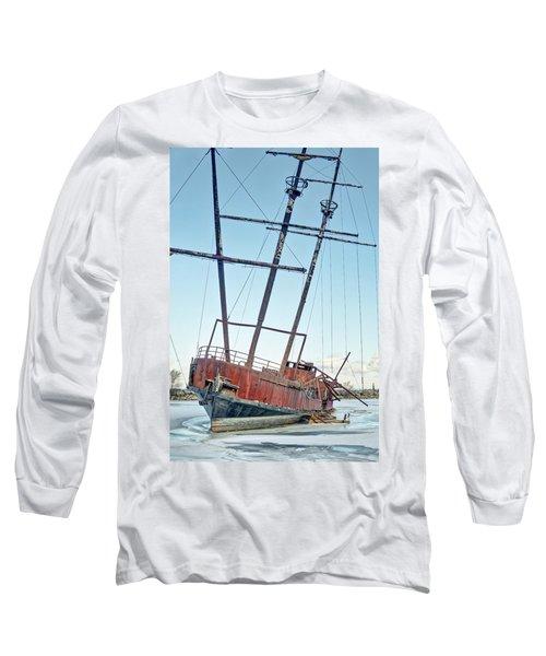 Forgotten Landmark Long Sleeve T-Shirt