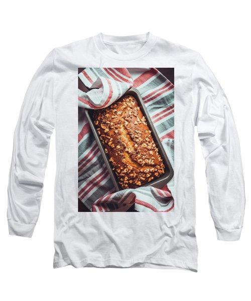 Freshly Baked Banana Bread Long Sleeve T-Shirt