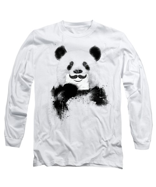 Funny Panda Long Sleeve T-Shirt