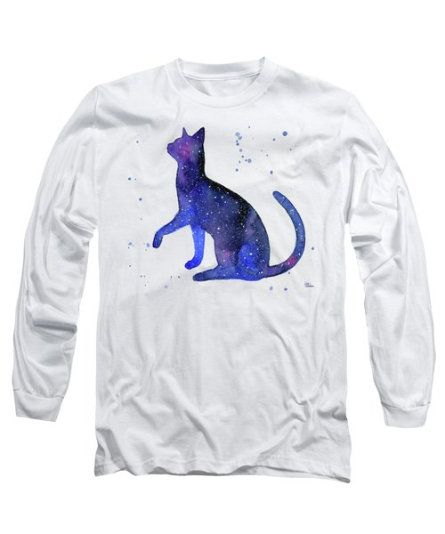 Galaxy Cat Long Sleeve T-Shirt