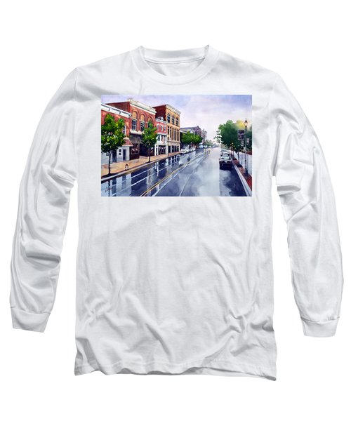 Gaslights And Afternoon Rain Long Sleeve T-Shirt
