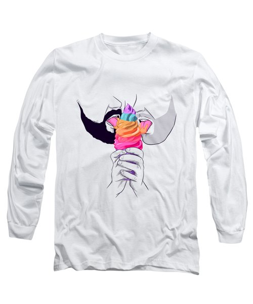 Gay Ice Cream Long Sleeve T-Shirt