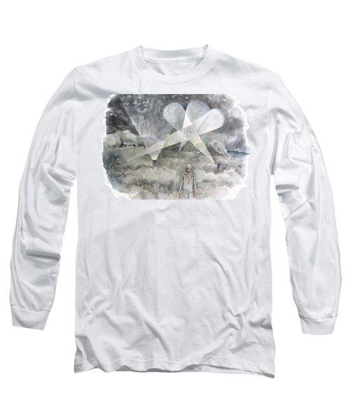 Ghostbusting The New Zealand Storm-petrel Long Sleeve T-Shirt