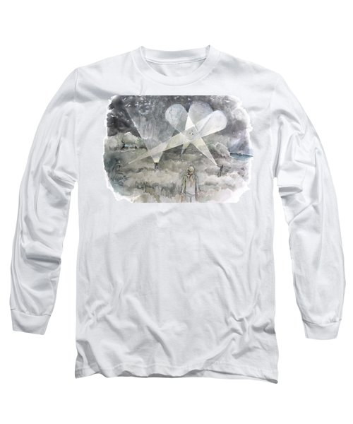 Ghostbusting The New Zealand Storm-petrel Long Sleeve T-Shirt