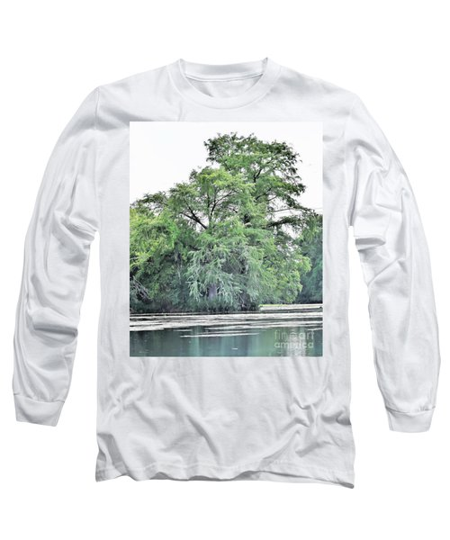 Giant River Tree Long Sleeve T-Shirt