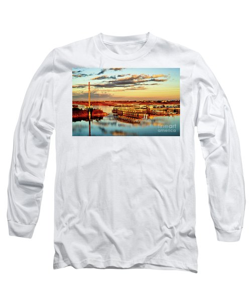 Golden Hour Bridge Long Sleeve T-Shirt