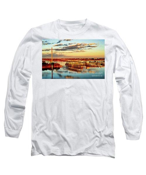 Golden Hour Bridge Long Sleeve T-Shirt