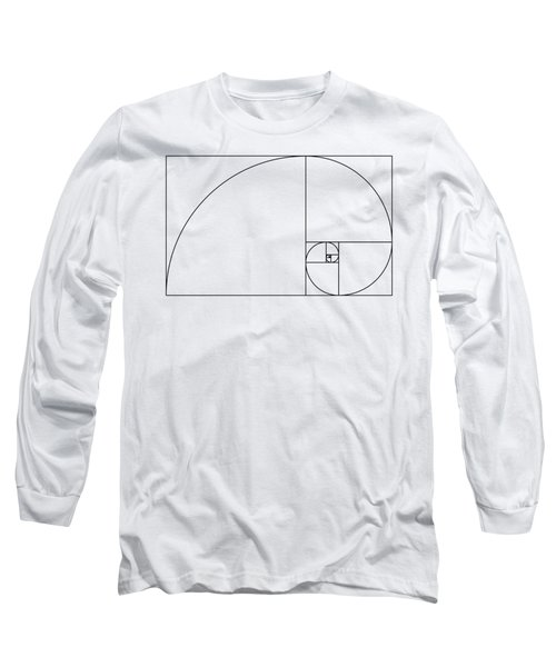 Golden Spiral Long Sleeve T-Shirt