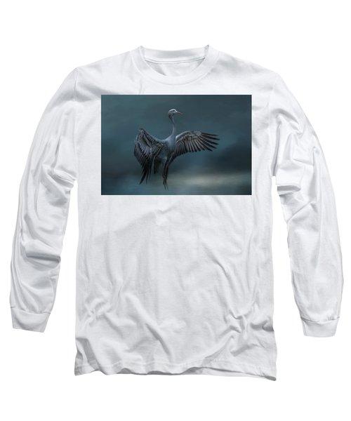 Graceful Dancer Long Sleeve T-Shirt