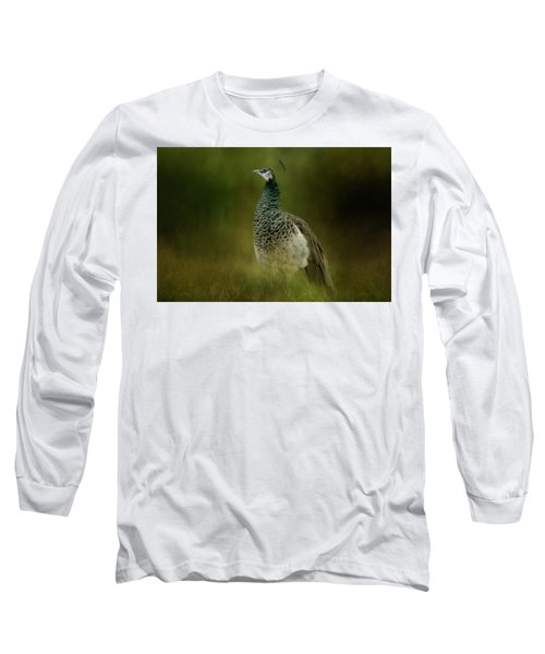 Green Gem In The Meadow  Long Sleeve T-Shirt