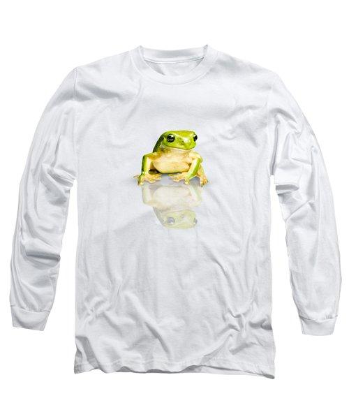 Green Tree Frog Long Sleeve T-Shirt