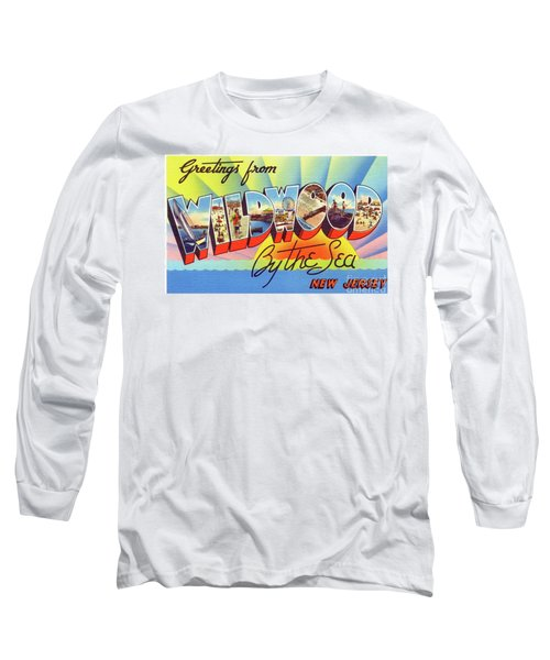 Wildwood Greetings - Version 1 Long Sleeve T-Shirt