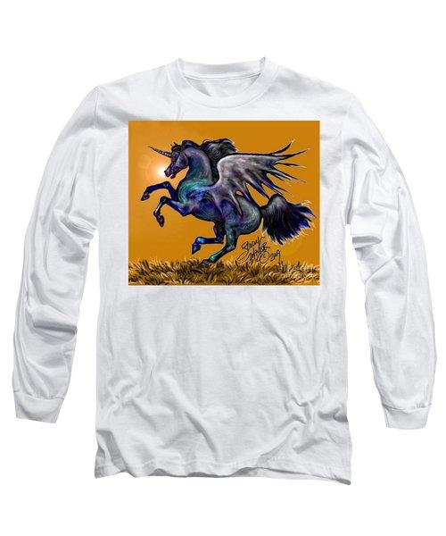 Halloween Fantasy Horse Long Sleeve T-Shirt
