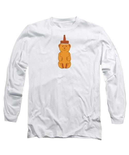 Happy Honey Bear Long Sleeve T-Shirt