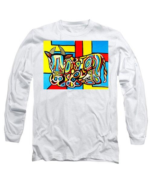 Haring's Cow Long Sleeve T-Shirt