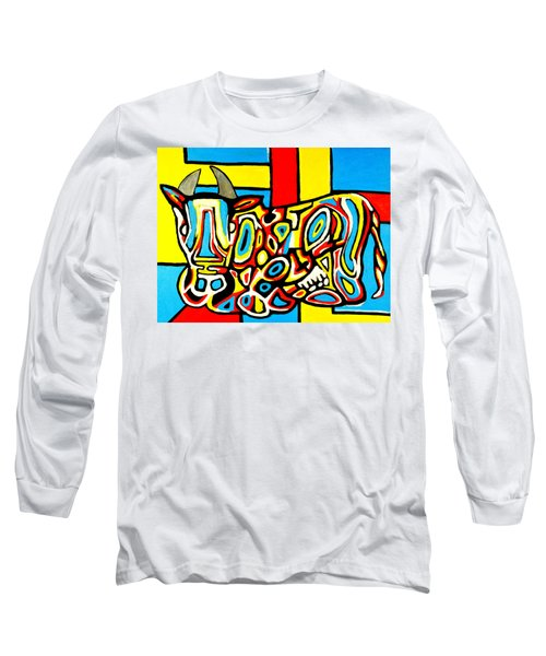 Haring's Cow Long Sleeve T-Shirt
