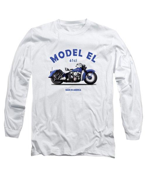 Harley-davidson El 1948 Long Sleeve T-Shirt
