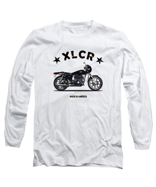 Harley Davidson Xlcr 1977 Long Sleeve T-Shirt