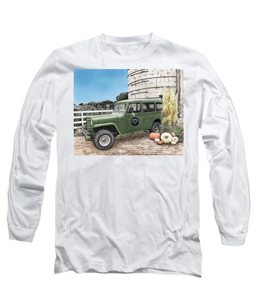 Harvest At Magnolia Long Sleeve T-Shirt