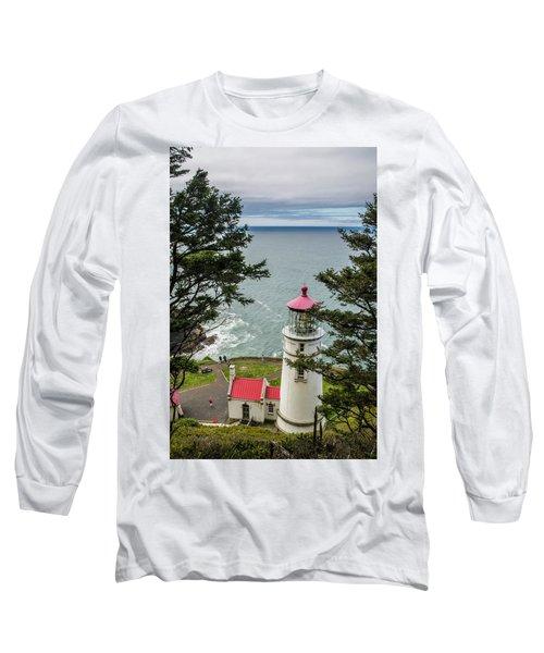 Heceta Head Lighthouse Long Sleeve T-Shirt