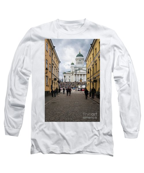Helsinki Streets Long Sleeve T-Shirt