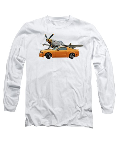 High Flyers - Mustang And P51 Long Sleeve T-Shirt