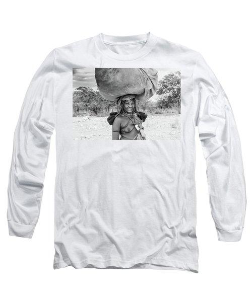 Himba Woman 2 Long Sleeve T-Shirt