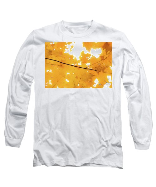 Honey Colored Happiness Long Sleeve T-Shirt