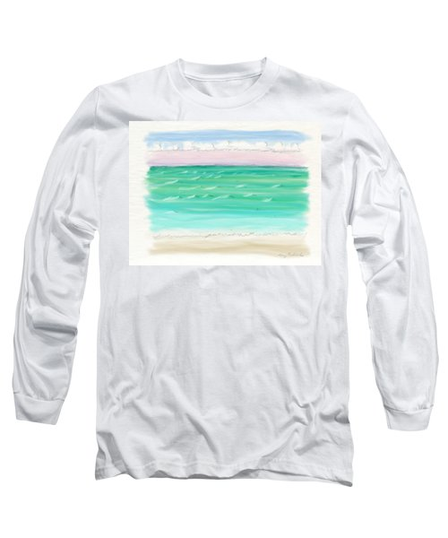 Horizontal Bliss Long Sleeve T-Shirt
