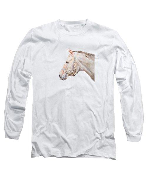 Horse Portrait I Long Sleeve T-Shirt