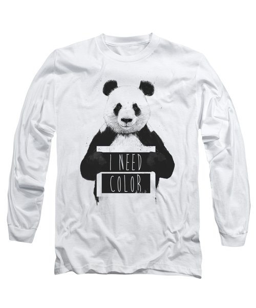 I Need Color Long Sleeve T-Shirt