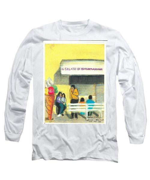 Il Gelato De Borgo Marina Long Sleeve T-Shirt
