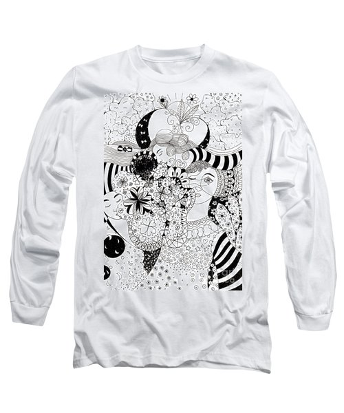 In Light And Dark Long Sleeve T-Shirt