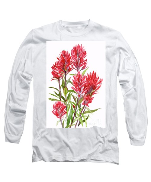 Indian Paintbrush Long Sleeve T-Shirt