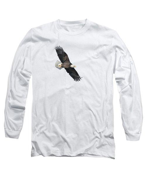 Isolated Bald Eagle 2018-2 Long Sleeve T-Shirt