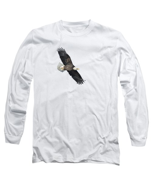 Isolated Bald Eagle 2018-2 Long Sleeve T-Shirt