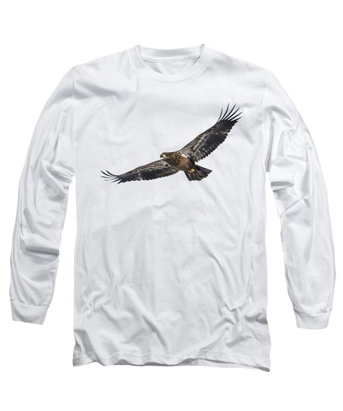 Isolated Bald Eagle 2018-3 Long Sleeve T-Shirt