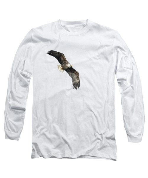Isolated Bald Eagle 2018-4 Long Sleeve T-Shirt