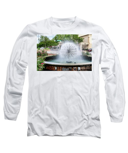 James Brown Blvd Fountain - Augusta Ga Long Sleeve T-Shirt