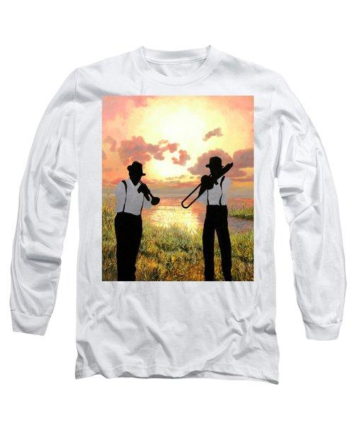 Jazz Al Tramonto Long Sleeve T-Shirt