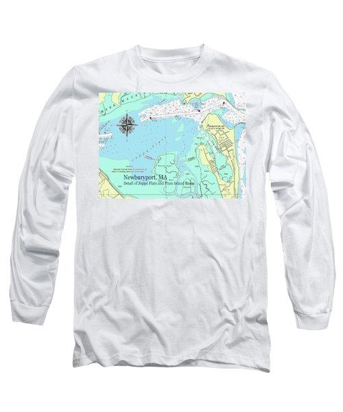 Joppa Flats Map Long Sleeve T-Shirt