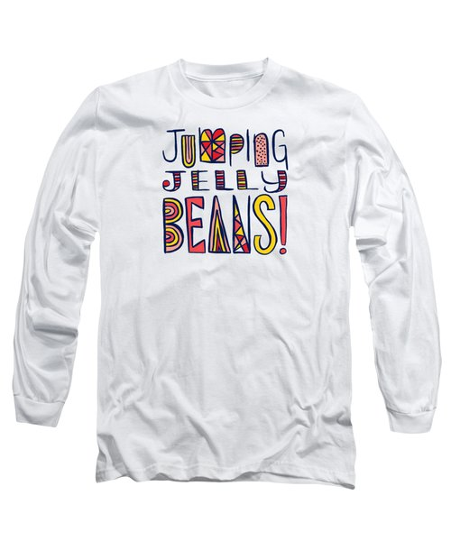 Jumping Jelly Beans Long Sleeve T-Shirt