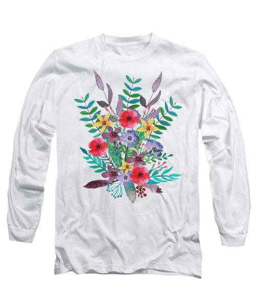 Just Flora I Long Sleeve T-Shirt