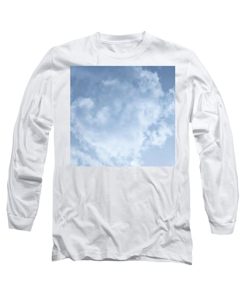 Long Sleeve T-Shirt featuring the photograph Lace Agate Sky by Judy Kennedy