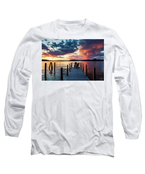Late Summer Storm. Long Sleeve T-Shirt