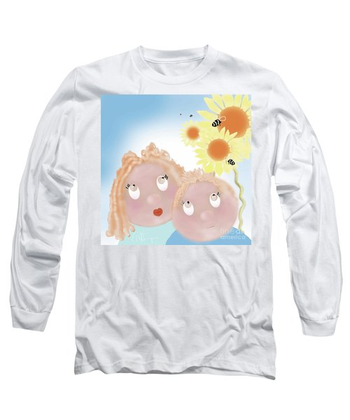 Little Ms And Bro Long Sleeve T-Shirt